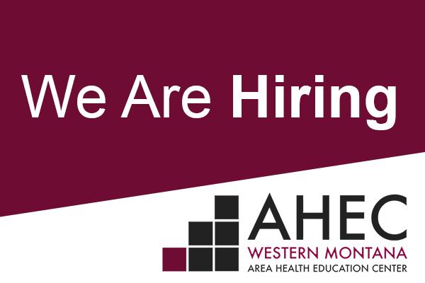 we're hiring ahec at um